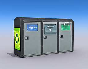3D model Recycling Container
