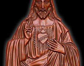 3D print model Jesus on the pendant