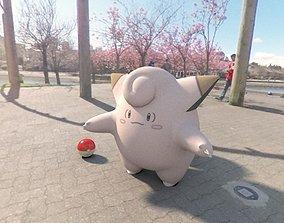 3D model Pokemon Clefairy