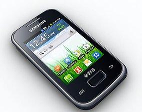 3D model Samsung Galaxy Pocket Duos S5302