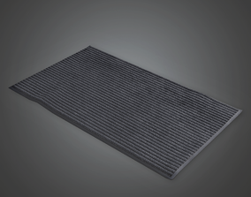 Floor Mat - CLA - PBR Game Ready 3D model