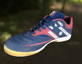 VR / AR ready Sport shoe low poly 3D model