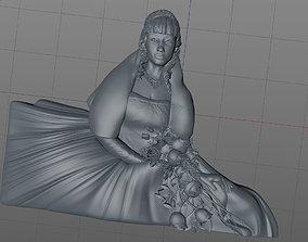 sculptures 3D model bride