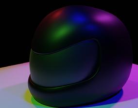 helmet motorcycle 3D model realtime