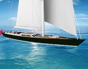 Baltic 152 Sailboat 3D model