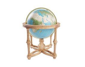 Cradle Globe 3D asset