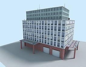 3D model office city building