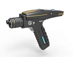 Phaser pistol from Star Trek Discovery TV series 3D