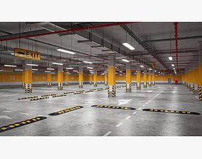 3D model ventilation Underground Parking