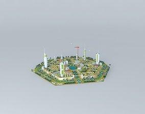 ARGO ARCHITECTS ideal future eco city 3D model