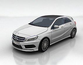 3D asset Mercedes benz A