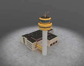EDDH Control Tower 3D asset
