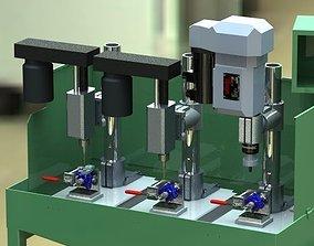 Multi Drilling for Carburator 3D