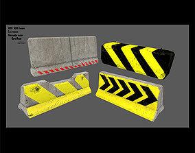 3D model barrier set 8