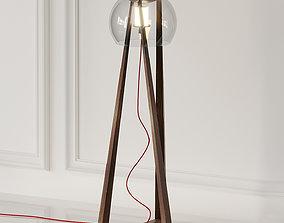 3D Compass Floor Lamp by Cattelan Italia