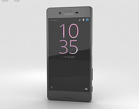 Sony Xperia X Performance Graphite Black 3D model