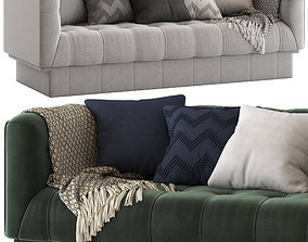 3D Globewest Humphrey Square 3 Seater Sofa