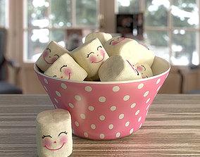 marshmallow 3D