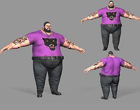 3D model Fat Thug