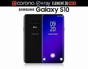 3D model Samsung GALAXY S10 v2
