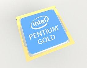 Intel CPU Pentium Gold v1 001 3D model
