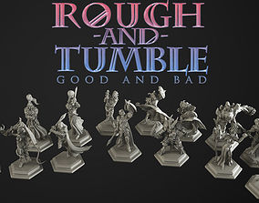 rough and tumble 3 bundle 3D printable model