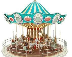 3D Carousel amusement
