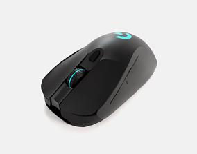 3D asset Logitech Gaming Mouse