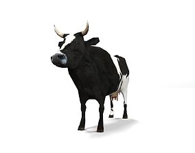 Lowpoly Cow 3D asset