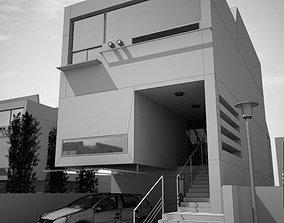3D model Modern Two Floor House