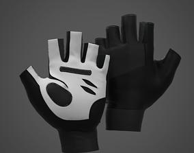 3D model Fitness Gloves