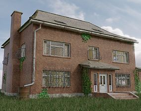 Old Brick House 3D model realtime