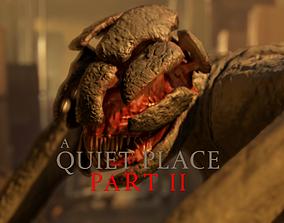 A Quiet Place 2 - Alien 3D model