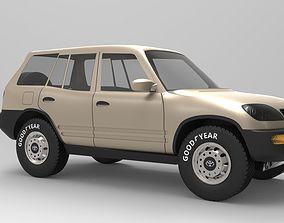 3D Toyota RAV 4 heavy-construction-machinery