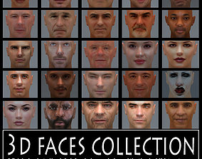 3D faces collection vol 1
