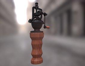 PBR - Vintage Pepper Grinder - Low Poly Game 3D model