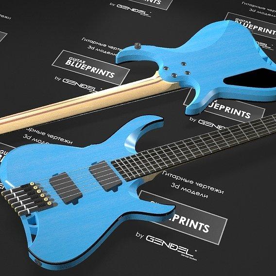 Project of custom guitar for dear friend