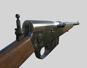 low-poly Remington Model 8 cal 35 PBR