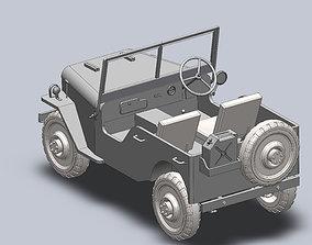 Jeep 1944 3D model
