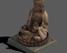 Sculpture - Big Buddha 3D model