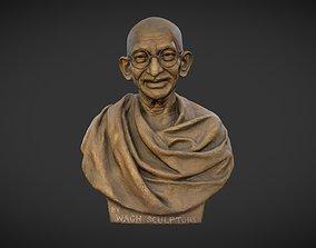 3D model Gandhi by Wagh Sculptors v3