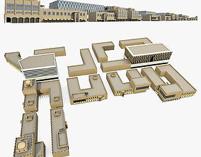 Office Buildings Collection 02 3D model