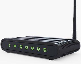 Wifi Router Generic 3D model