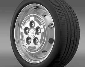 Peugeot Boxer Van wheel 3D