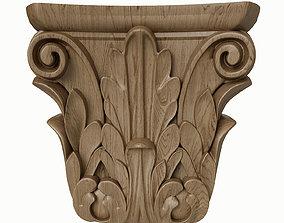 3D model pilaster CandidusPrugger art KA 628