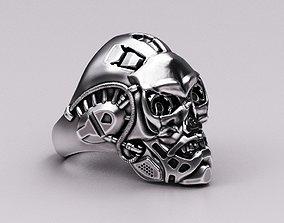 3D print model Bio-mechanical skull