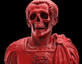 Caesar Skull Bust 3D print model