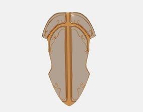 3D model Stone Kind Fantasy Armor