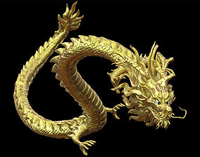 zbrush Chinese Dragon 3D