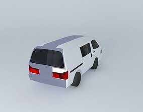 3D Toyota Hiace at Tokyo, Japan